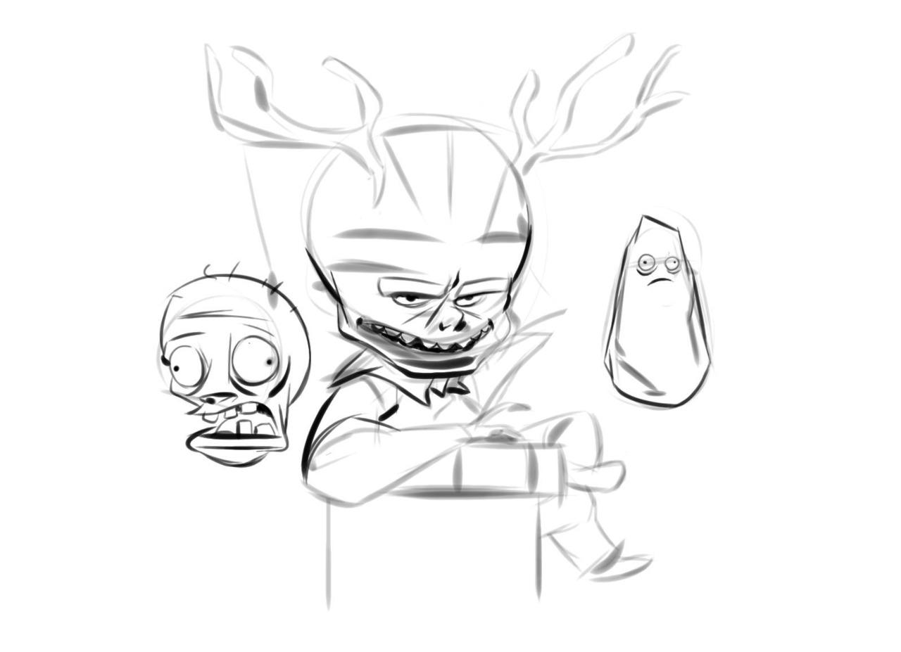 deer earz pvz zombiez