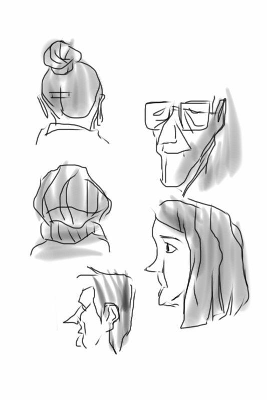 Bus head doodle 3
