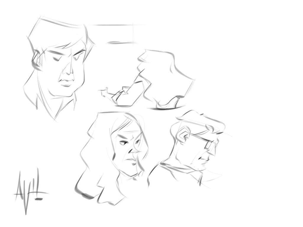 Morning Sketch 02