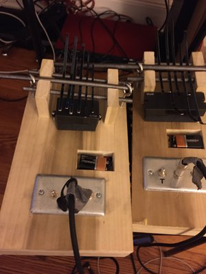 Electric Bass and Alto Kalimbas -