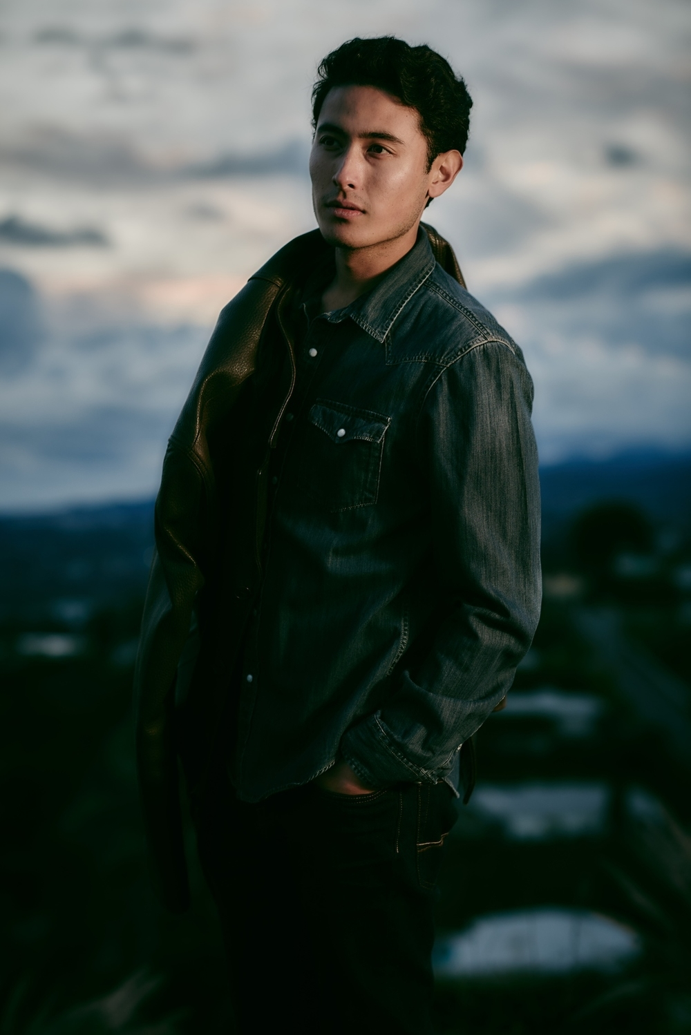 Model Brian Lee, CESD, Photo Credit: Michael Becker