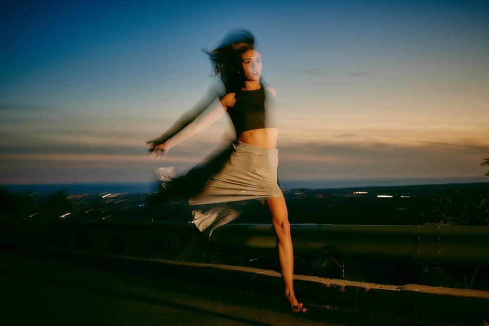 Model Ashley Campbell, Photo Credit: Michael Becker