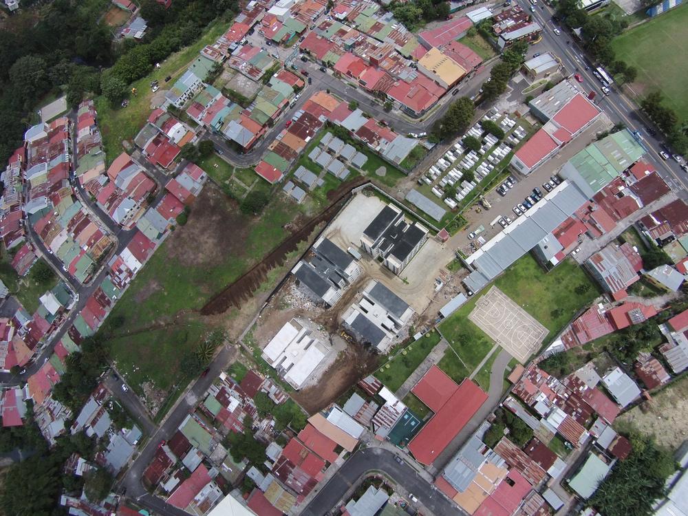 Muro de Gaviones Condominio Vistas de Centro DGEO