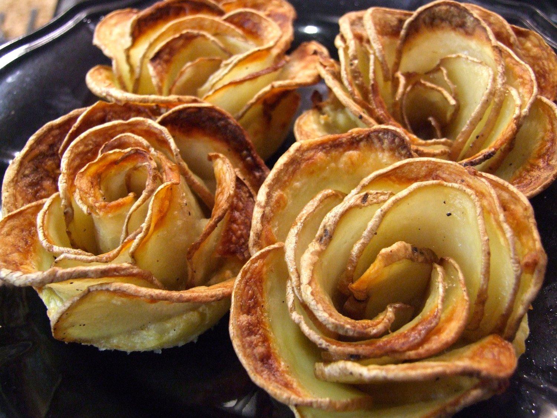 розы из блинов фото это