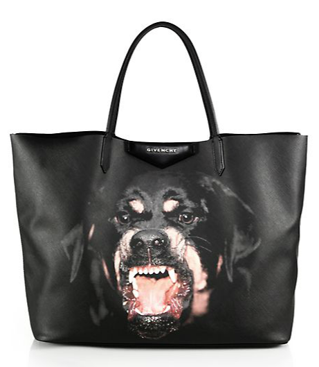 Givenchy, Rottweiler Medium-Print Shopper Tote, $1145