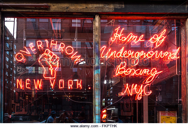 Overthrow Boxing Club (Nolita)