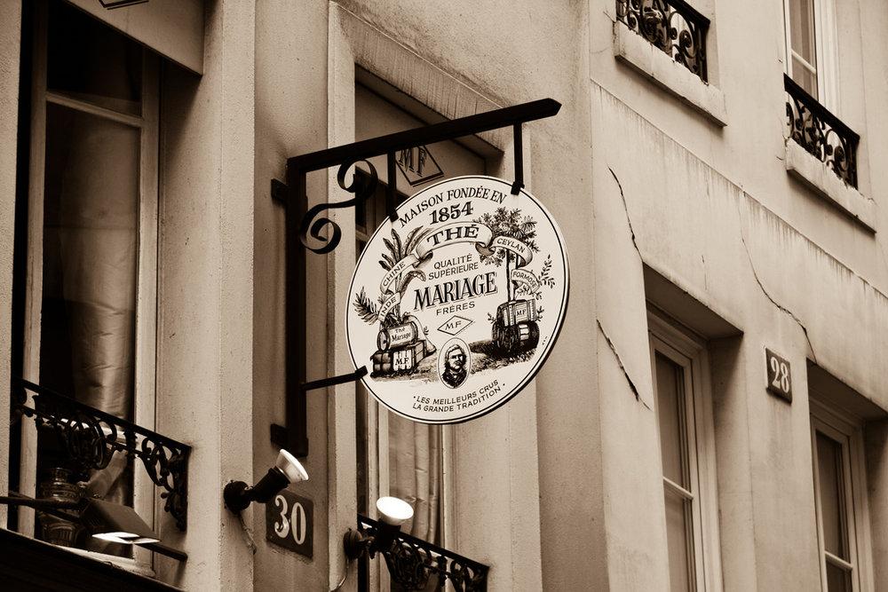 Mariage Frères Tea House (8ème)
