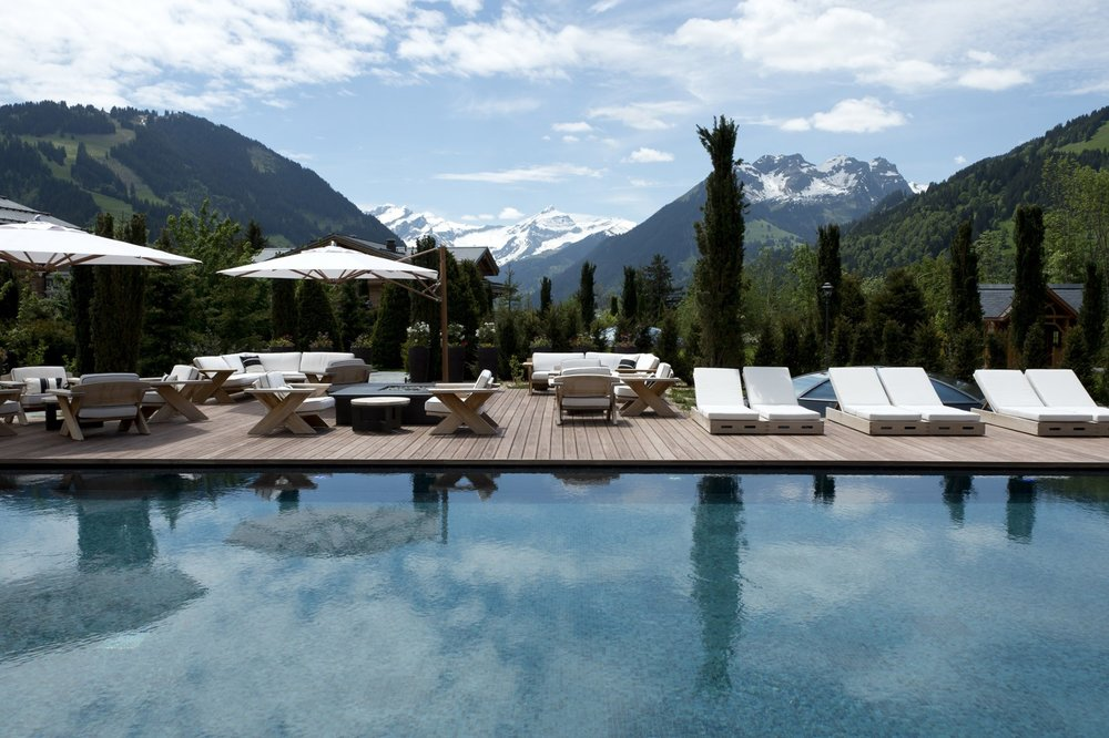 Pool at Alpina Gstaad (Gstaad)