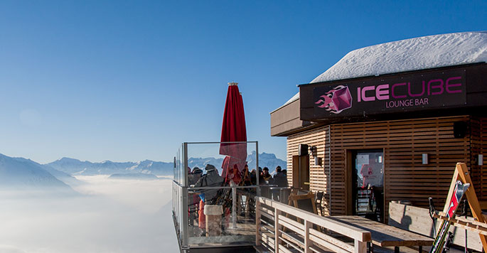 Ice Cube Bar (Verbier)