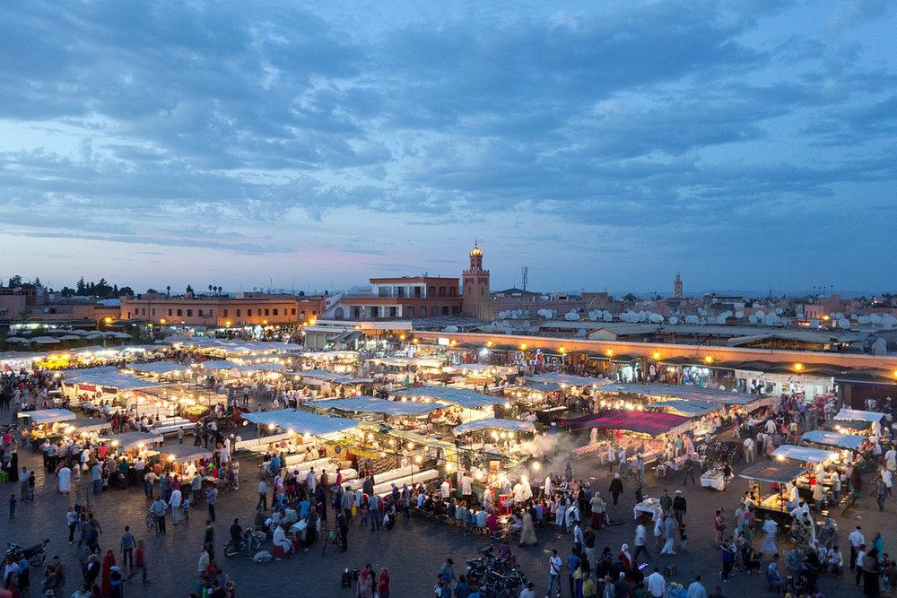 Jemaa el-Fnaa Market