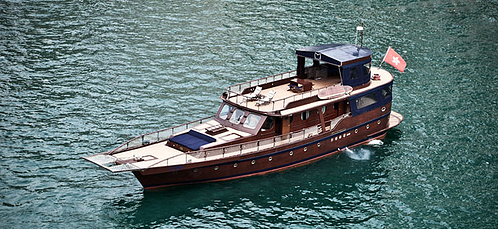 Michelangelo Luxury Junk Boat