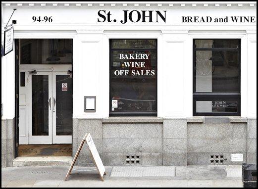 St. John Bread & Wine (Spitalfields)