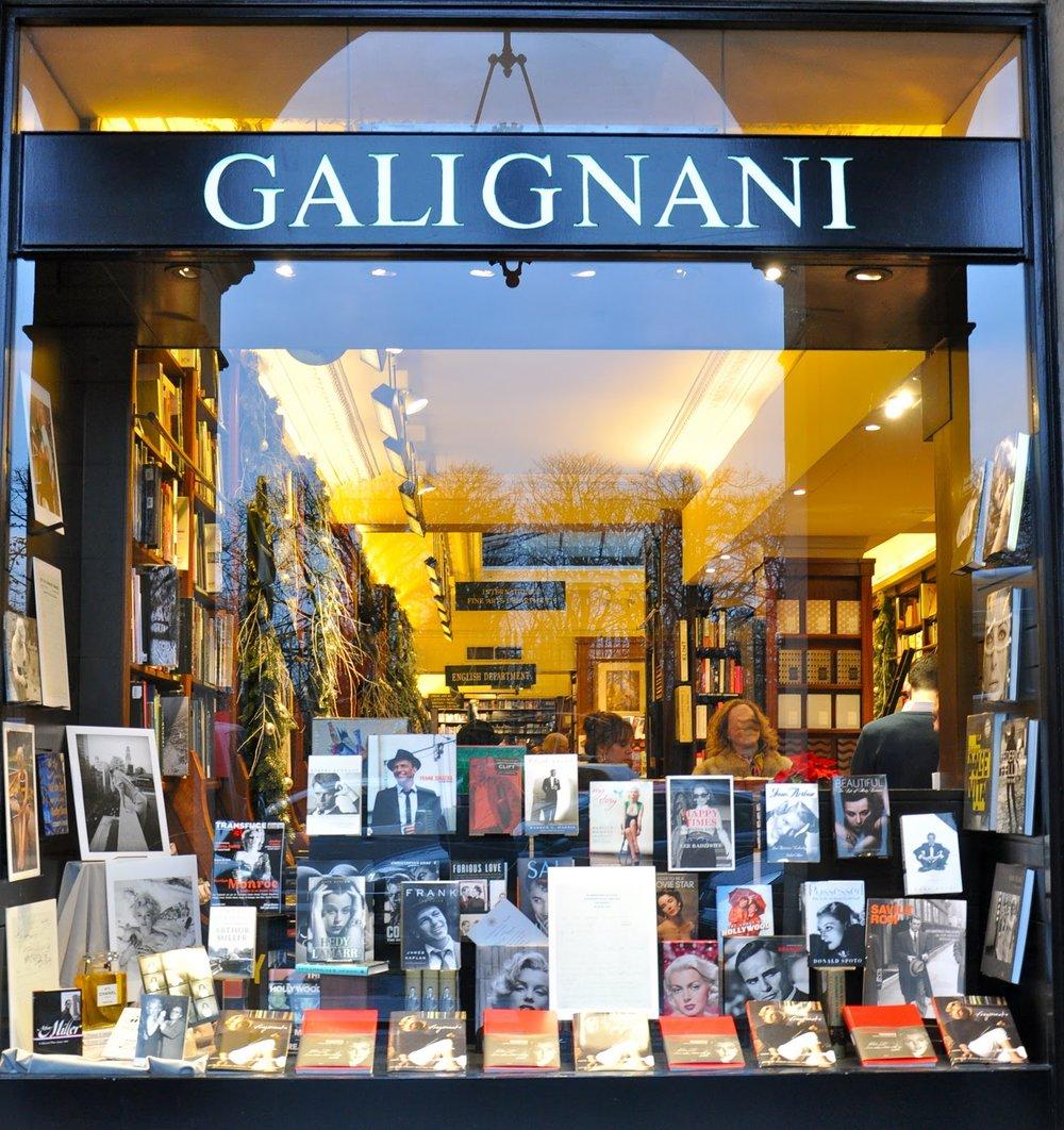 Librairie Galignani (1éme)