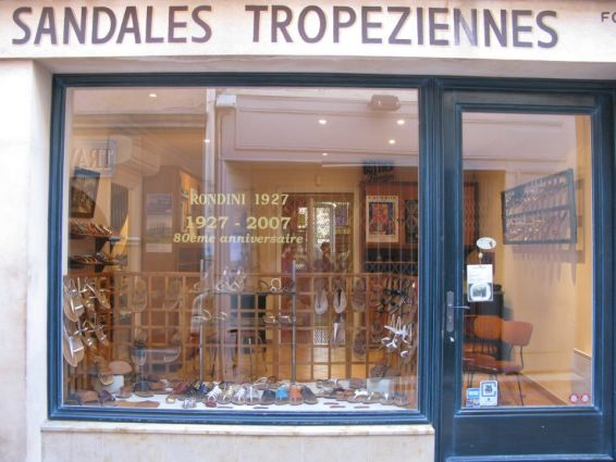 Sandals Tropéziennes RONDINI (Saint-Tropez)