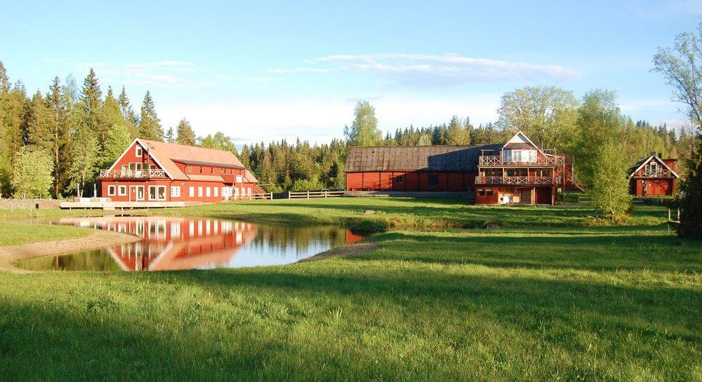 The Mundekulla Retreat Center in the South of Sweden