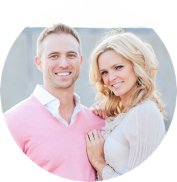 Dr. Chad Drennan with his wife, Kristi.