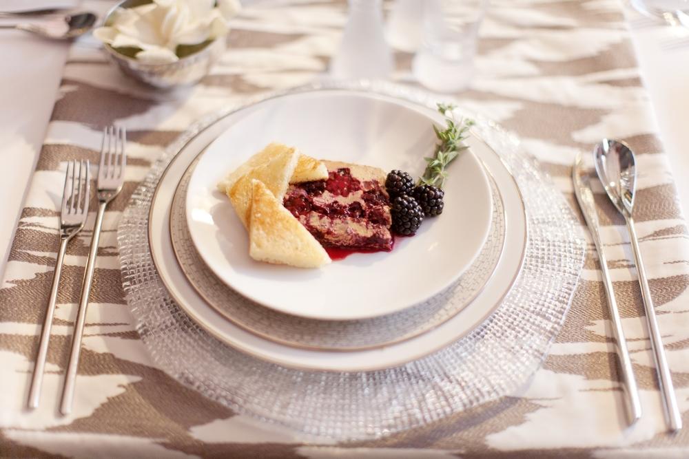 Foie Gras Terrine, Plugra Griddled Brioche, Blackerries