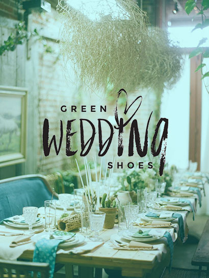 GREEEN WEDDING SHOES<br>BOHEMIAN DINNER PART