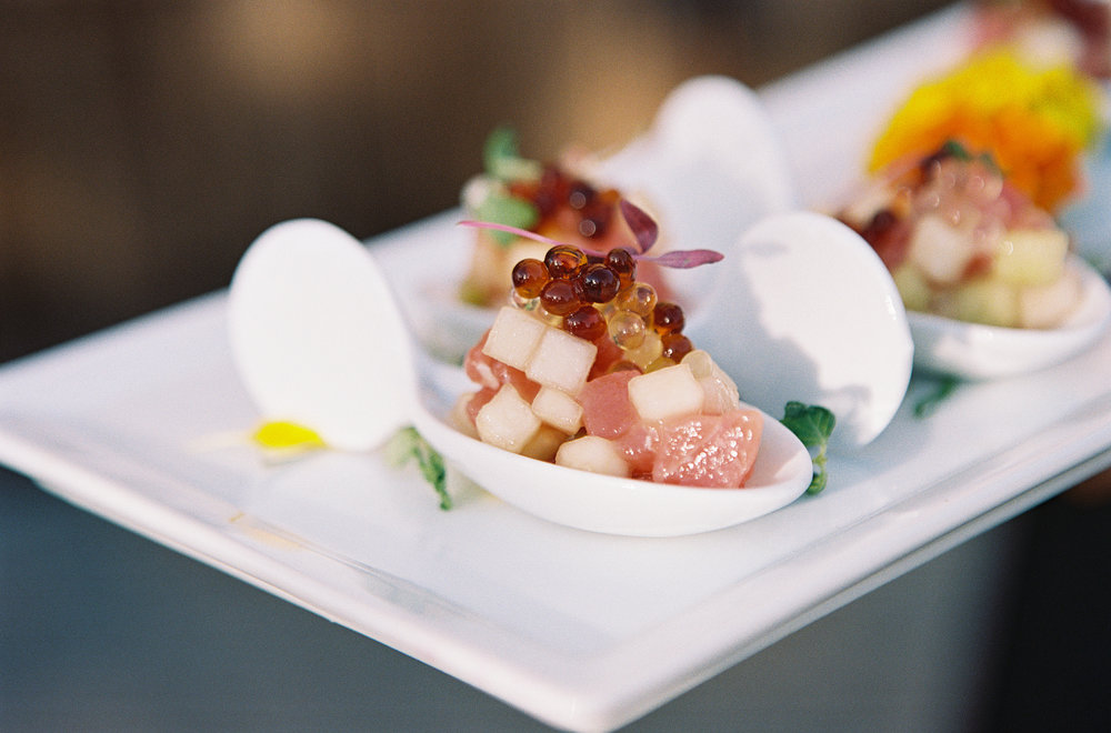 Caught Ahi Tuna, weiser family farms ambrosia melon, yuzu pearls, soy pearls 2.jpg