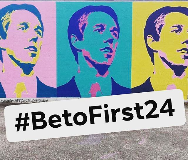The calm before the storm...Lets break some records and channel our pent-up energy into concrete actions in the first 24 hours that will help @BetoORourke take off as soon as he officially launches! Who's ready!?. . . . . #BetoFirst24 #Beto2020 #RunBetoRun #betoorourke #election2020 #democrats #fundraise #yallbetovote #mississippiforbeto #southernfolksforbeto #peopleforbeto #iowaforbeto #actblue #smallarmy #grassroots