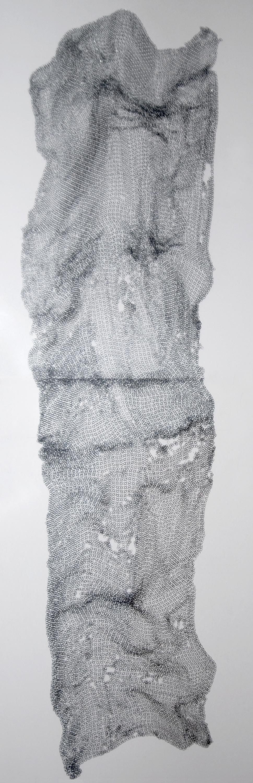 Chains, print, 7' x 3'