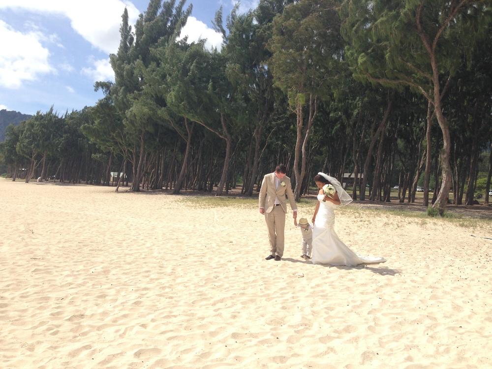 Simple-Hawaii-Beach-Wedding