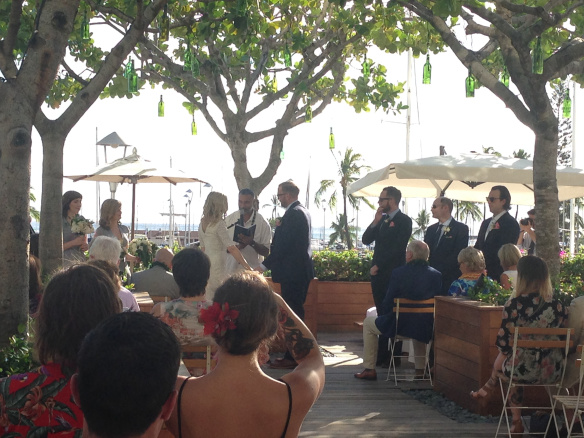 the modern hawaii wedding