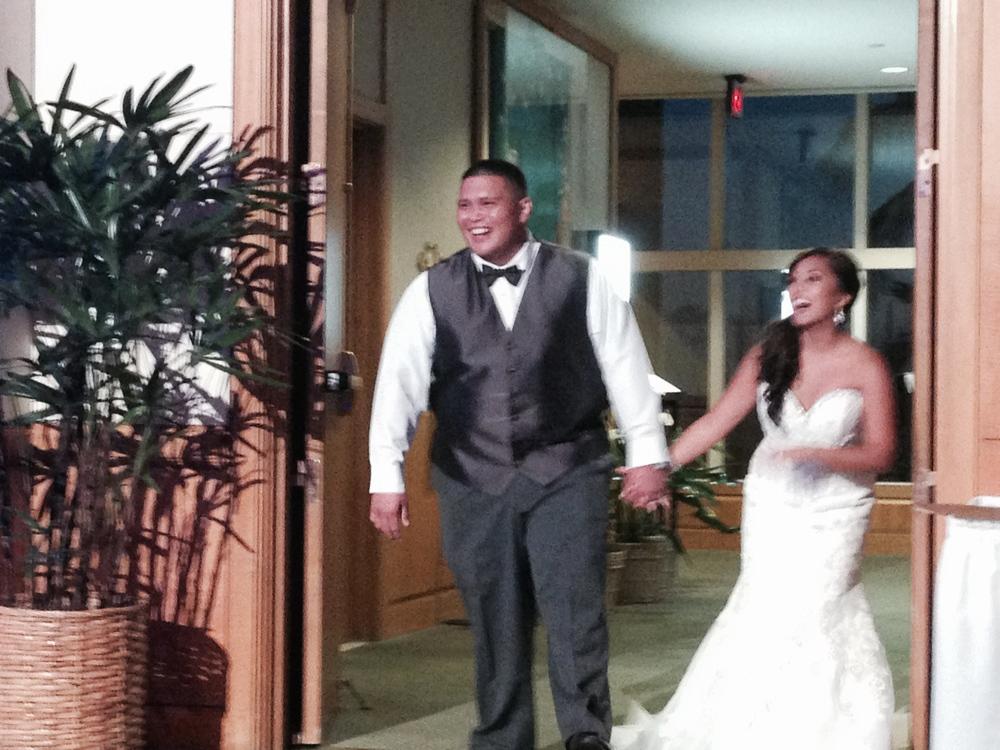 mike-ashley-hawaii-prince-hotel-reception-wedding-entrance