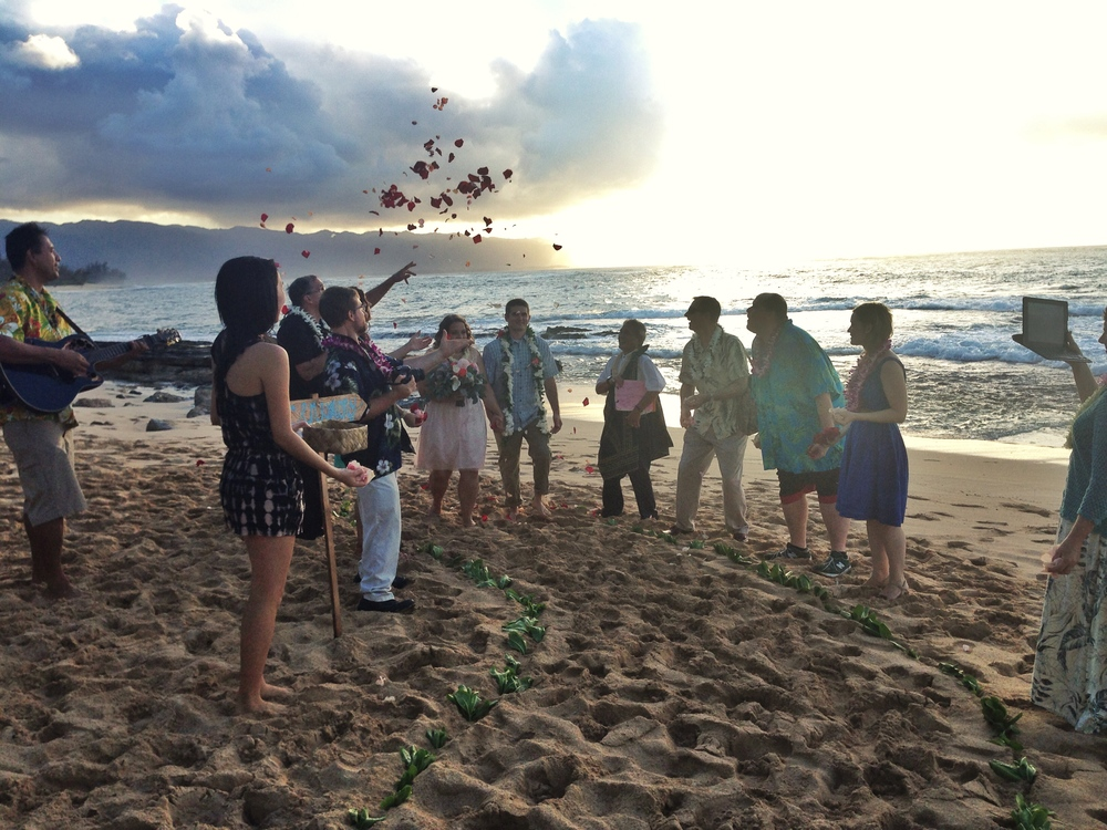 jacqueline-caleb-hawaii-north-shore-wedding-sunset-say-i-do