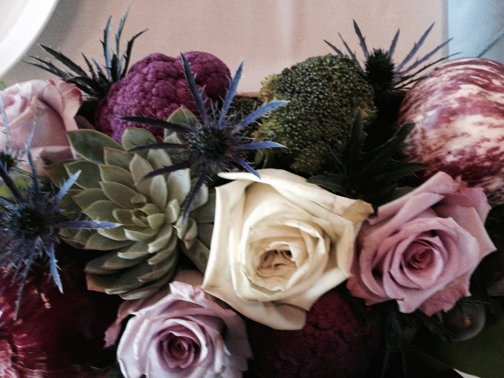 vegetable-centerpiece-organic-wedding