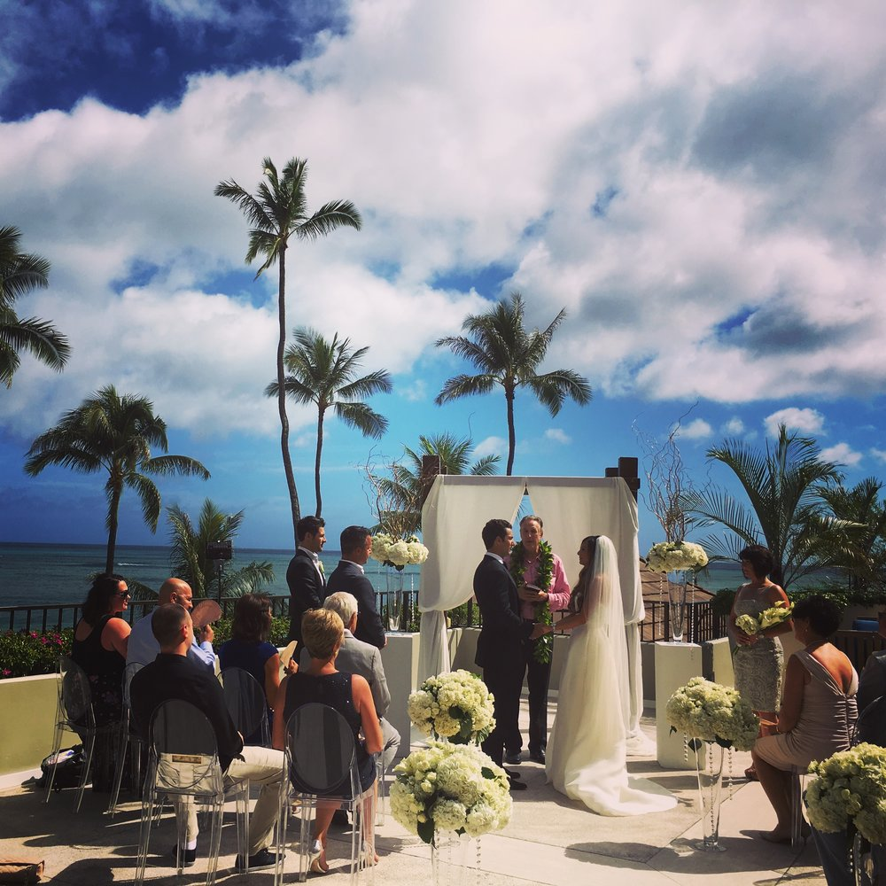 halekulani wedding