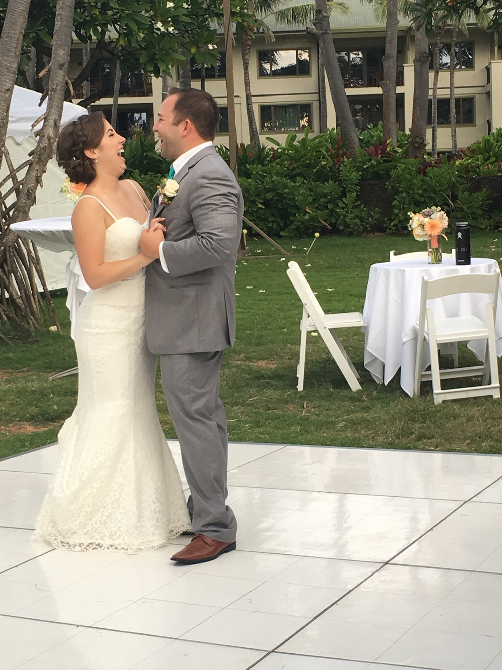 first-dance-hawaii