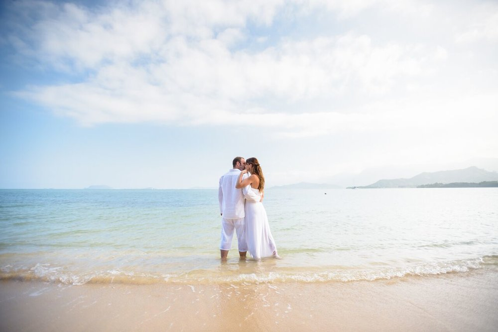 coconut island wedding