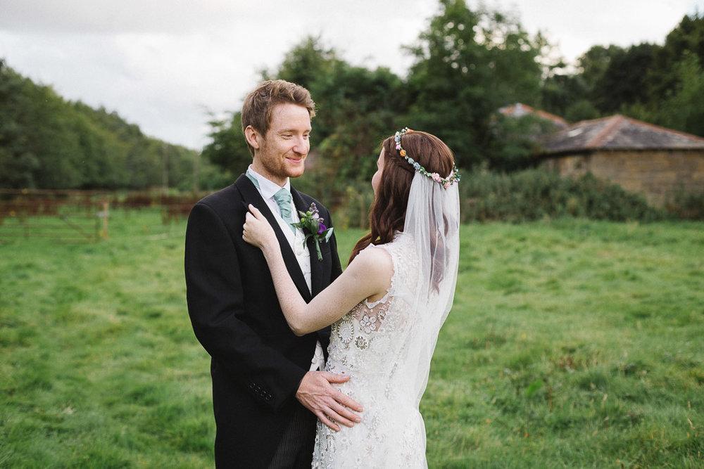 Blagdon Parlour Wedding - Northumberland Wedding Photographer-143.jpg