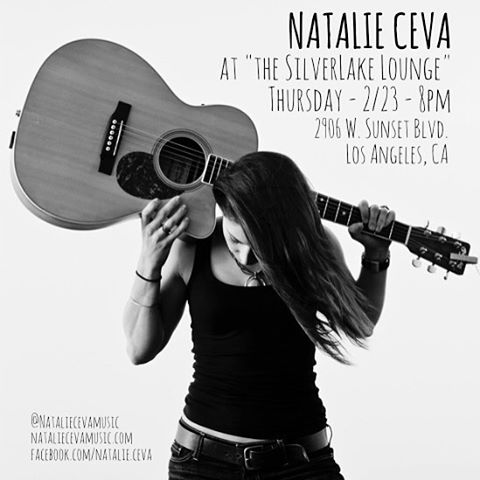 Four day work week and back playing in LA @silverlakelounge with #newmusic see ya on Thursday 🍻#thirstythursday #singersongwriter #silverlakelounge #nataliecevamusic #acoustic #unsigned #musician #livemusic #losangeles