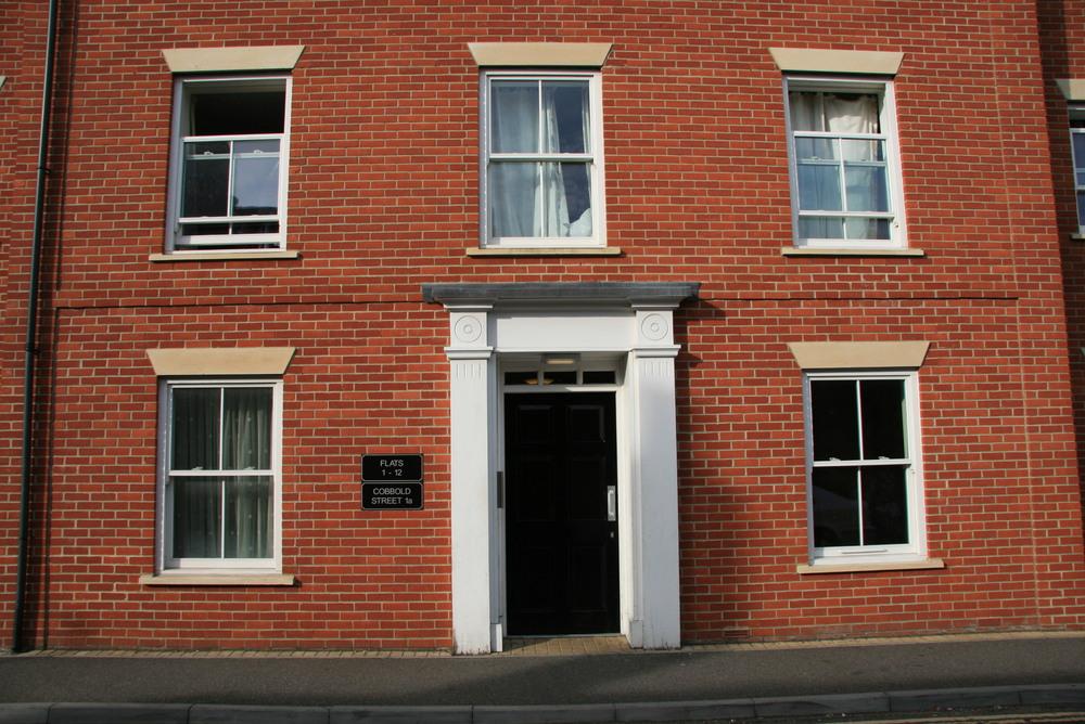 Address:  Cobbold Street, Ipswich, Suffolk     Client:  Elliston, Steady & Hawes Ltd (for Orwell Housing Association)     Structural Engineer: G.C. Robertson & Associates Ltd     Main Contractor: Elliston, Steady & Hawes Ltd