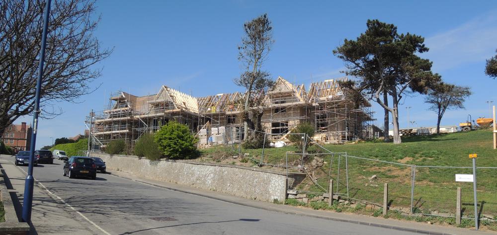 Cautley House under development
