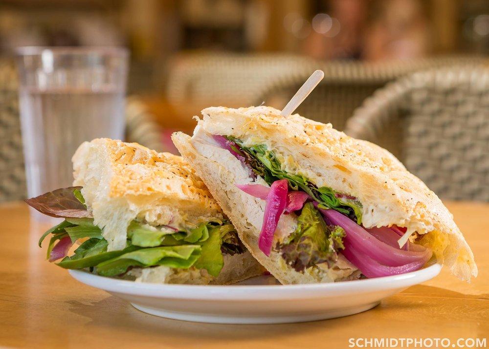 Chicken Artichoke Sandwich
