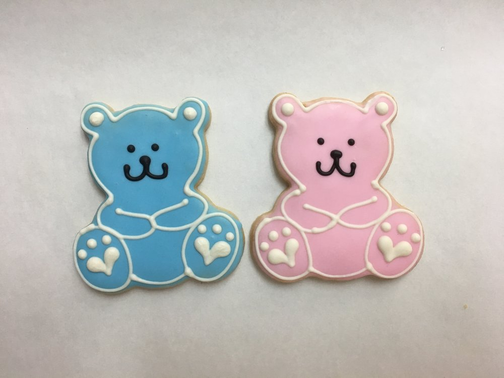 Baby Bear, Blue and Pink