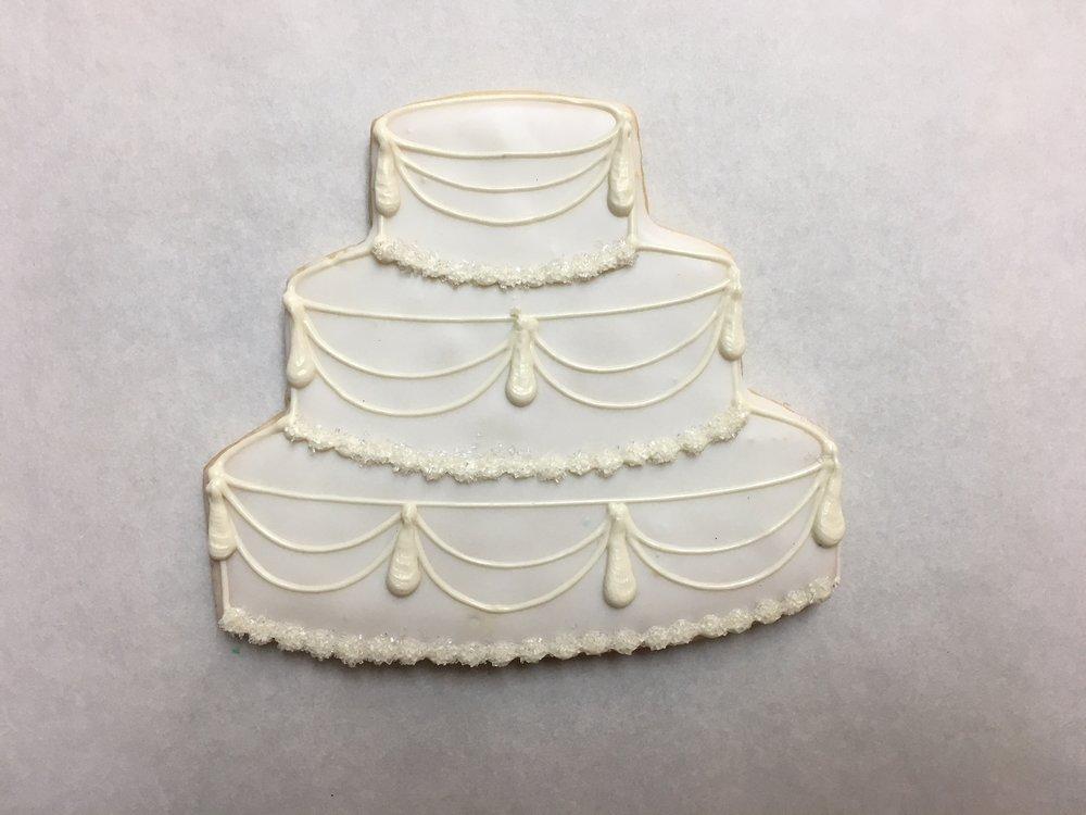 Large Wedding Cake, Swag