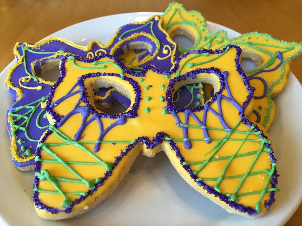 Mardi Gras, Butterfly Mask
