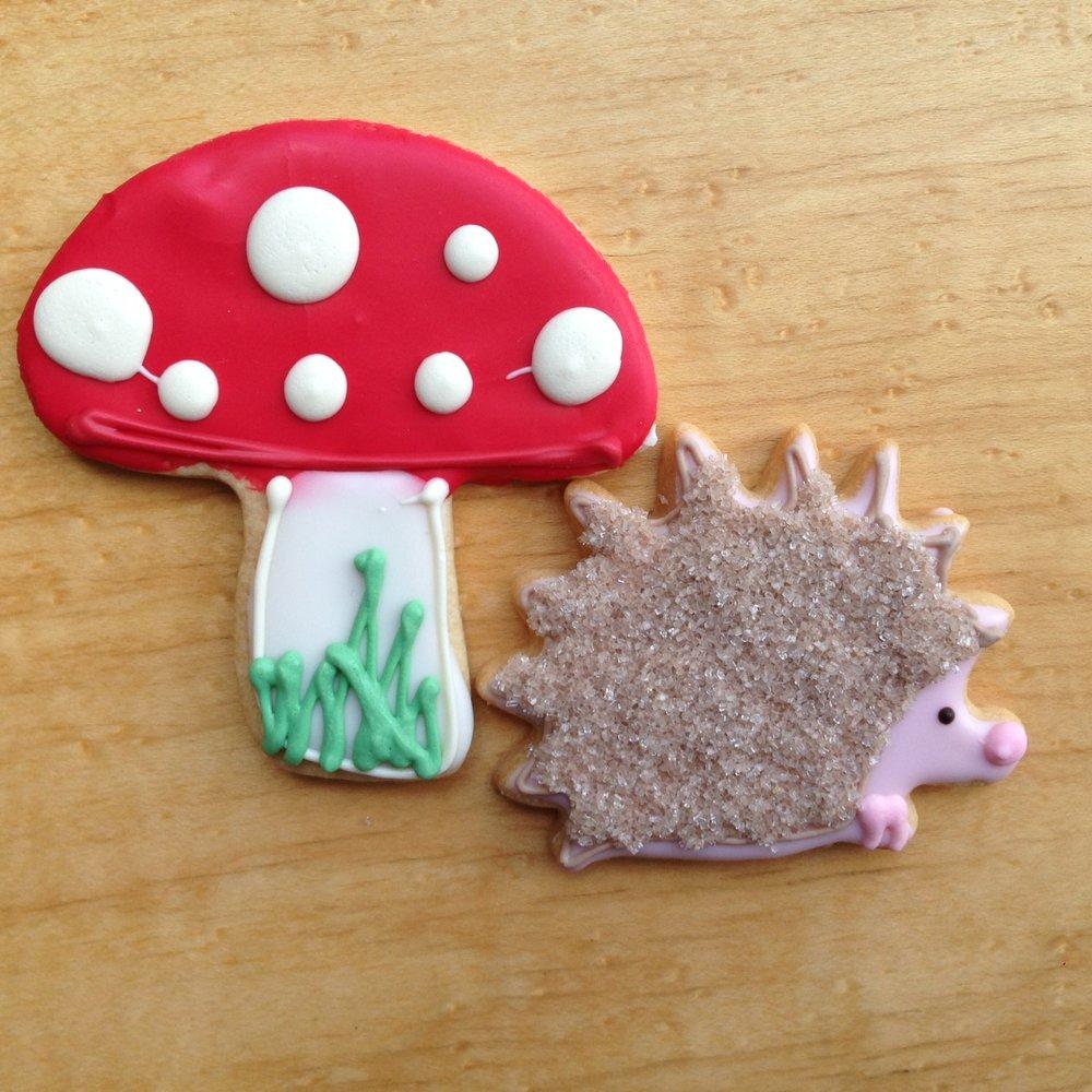 Spring - Mushroom and Hedgehog.JPG