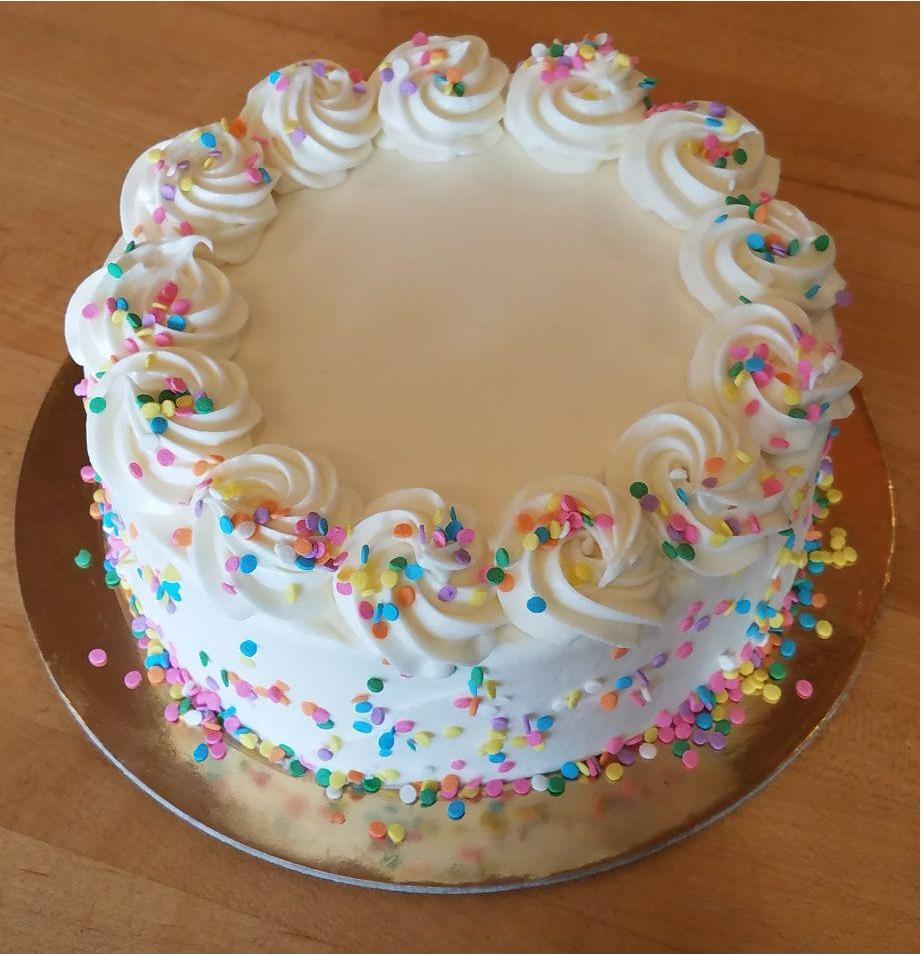 Funfetti, smash cake