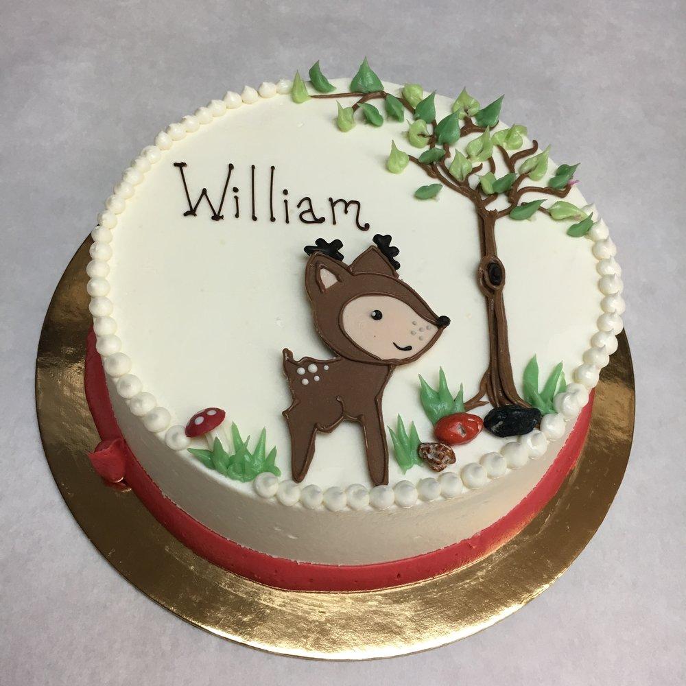 Deer, smash cake