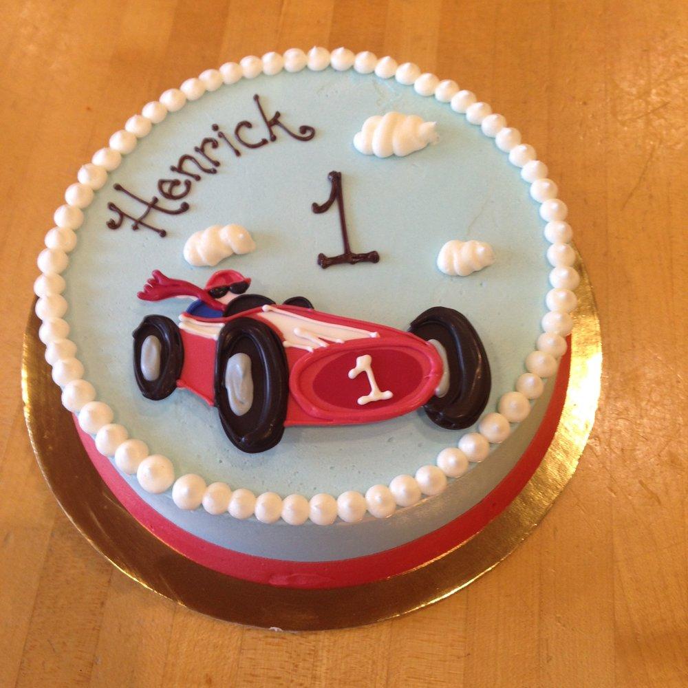 Roadster, smash cake