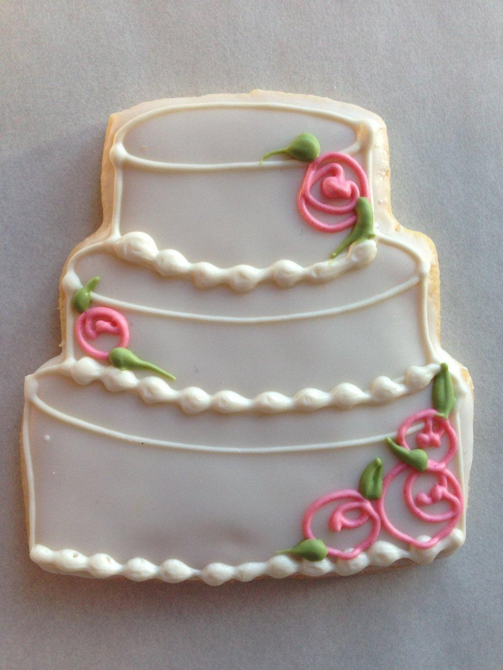 Wedding, Bridal - Wedding Cake, Floral.JPG