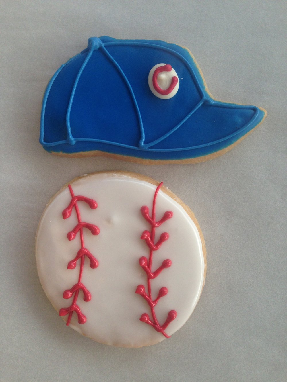 Sports - Cubs Hat, Baseball.JPG