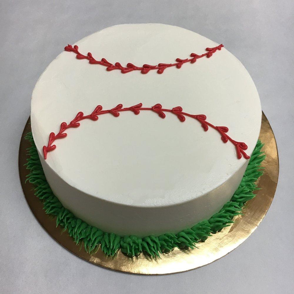 Baseball, smash cake