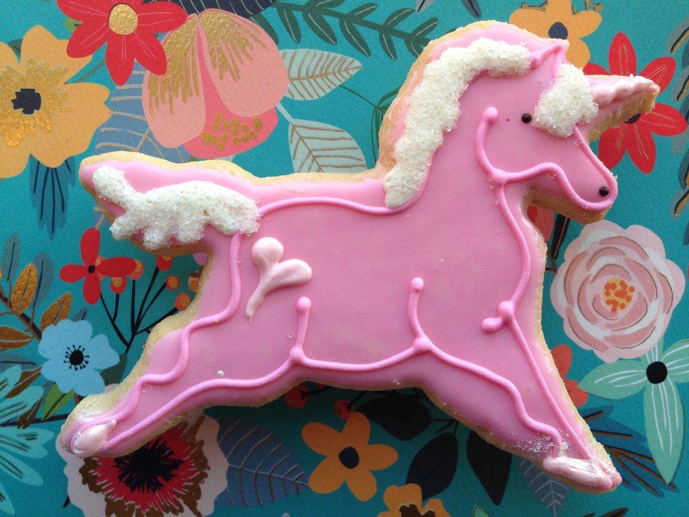Unicorn, pink