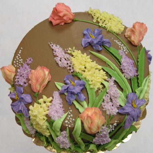 Spring on Stem, chocolate